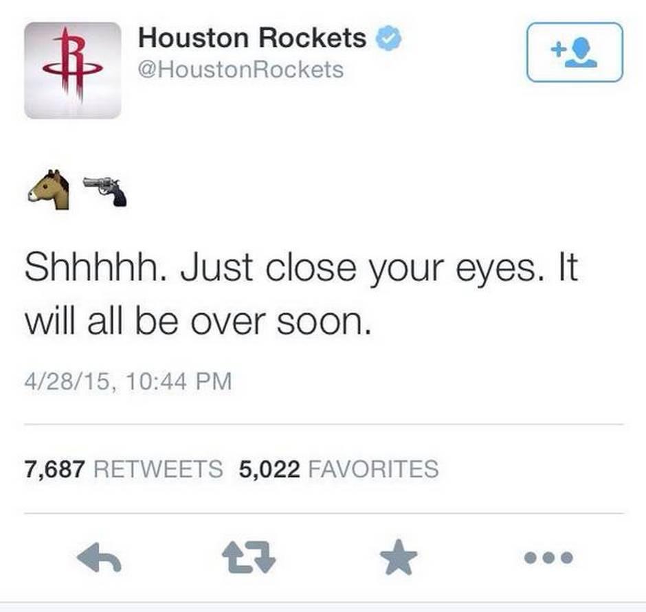 rockets tweet