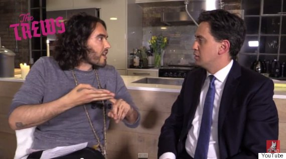 russell brand ed miliband