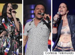 Mira quiénes están ensayando en los Latin Billboard