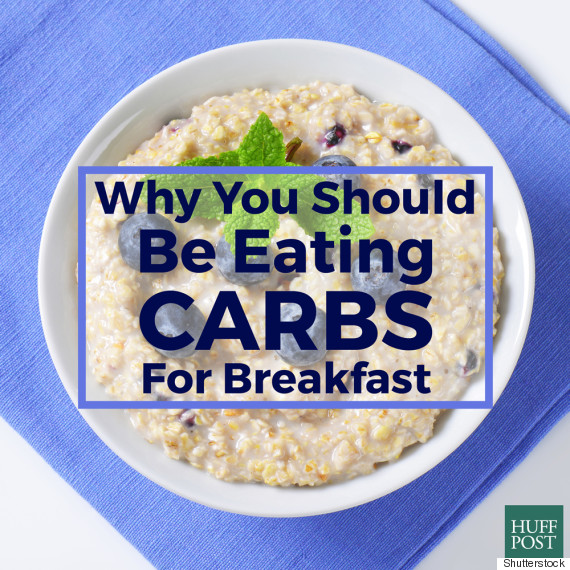 eat carbs for breakfast