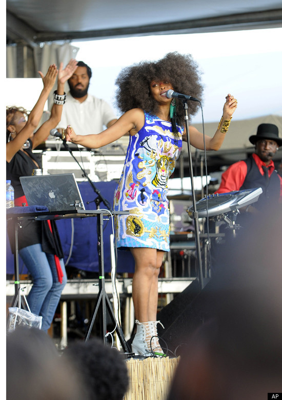 Erykah Badu Explains Why She Ditched Her Head Wrap - Erykah Badu Explains Why She Ditched Her Head Wrap HuffPost