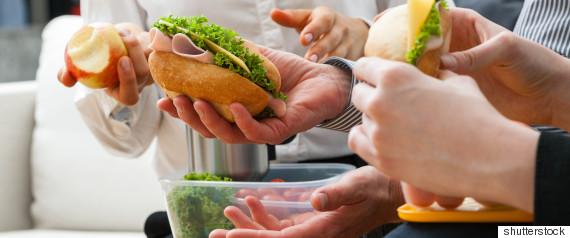 woman sandwich
