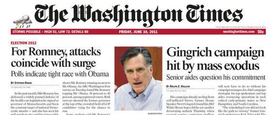 WASHINGTON TIMES