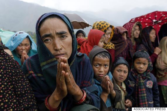 nepal aid