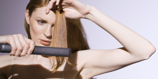 Images The One Hair Straightening Mistake You
