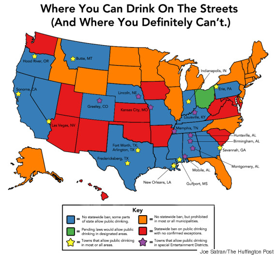 public drinking map post ohio