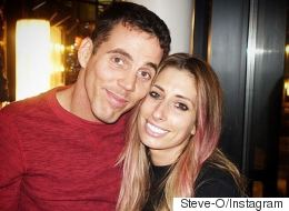 Stacey Solomon Just Did This To Steve-O's Face With A Massive Knife