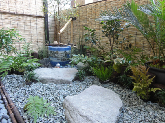 con jardin zen