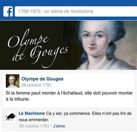 """""""L'histoire de France selon Facebook"""": Et si nos personnages historiques avaient pu utiliser le réseau social?"""