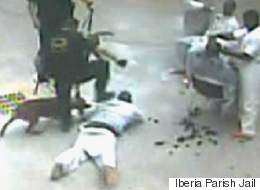 Shocking Jail Surveillance Footage Captures Guard's Brutal Attack On Louisiana Inmate