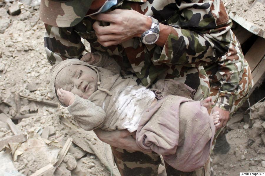 nepal rescue baby