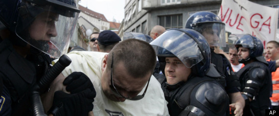 CROATIA GAY RIGHTS PARADE