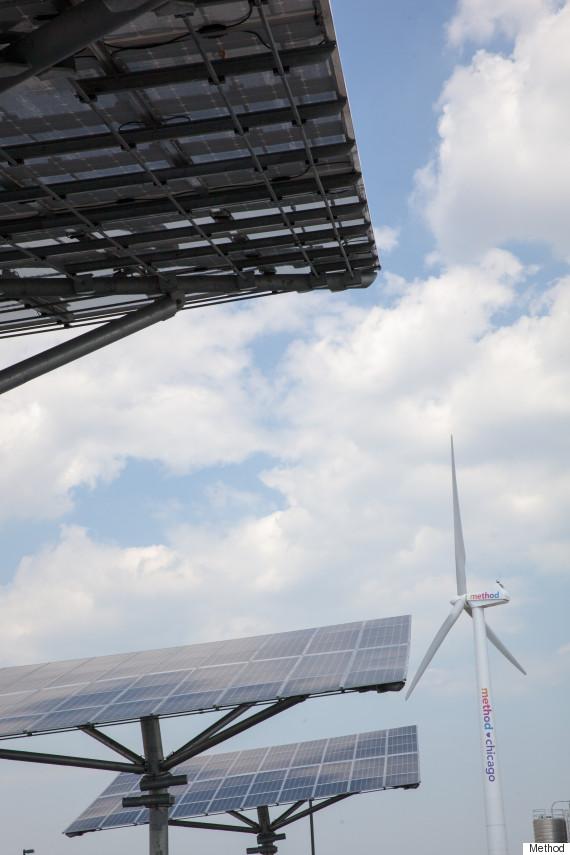 solar trees wind turbine