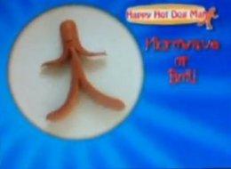 WATCH: Happy Hot Dog Man