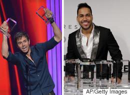 Romeo y Enrique los grandes ganadores de los Latin Billboards