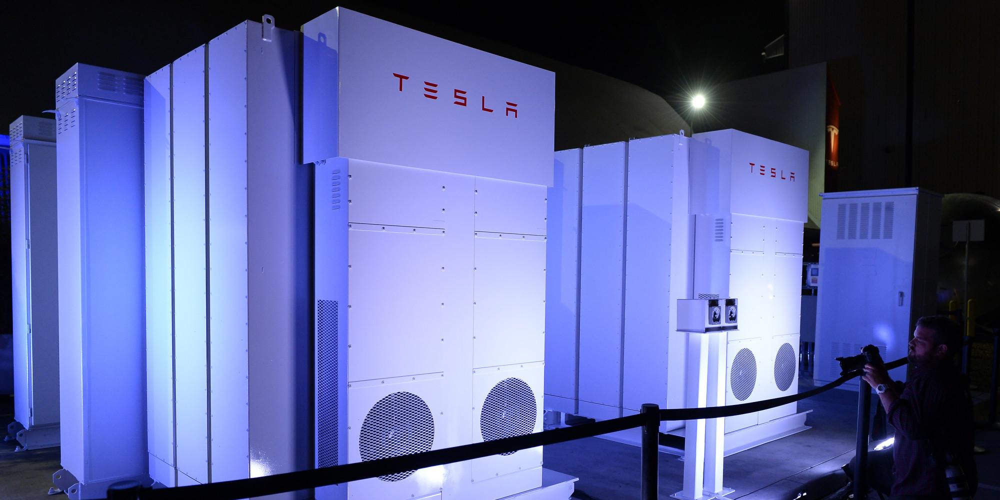 tesla lance une batterie pour stocker l u0026 39  u00e9lectricit u00e9