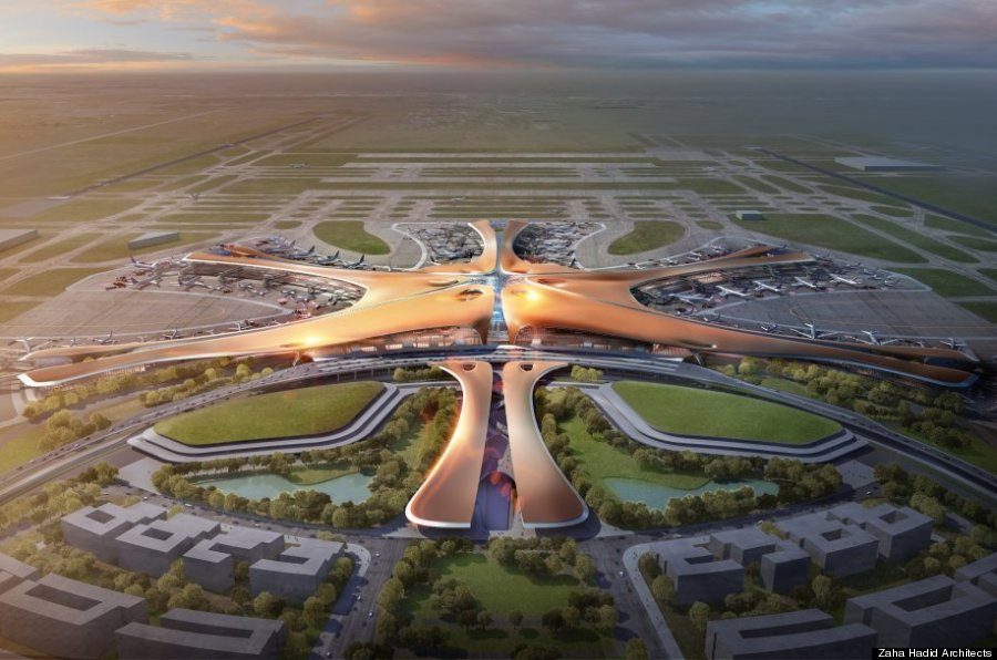 beijing is building the world s biggest airport terminal ハフポスト