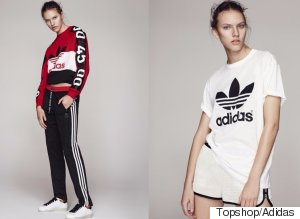 Topshop X Adidas