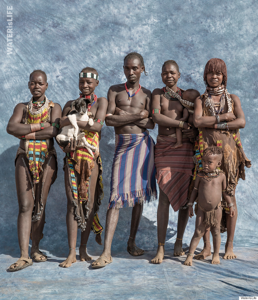 10 young nudist family  Many of the families photographed spend 10 hours a day fetching water,  according to WaterIsLife, an arduous task that disproportionately falls on  the ...