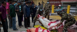 NEPAL EARTHQUAKE BODY