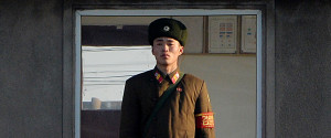 NORTH KOREA GUARD