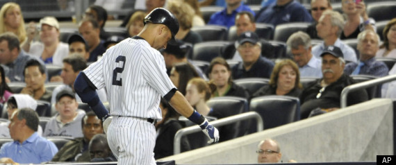 Derek Jeter Injured