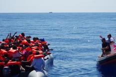 Migrants secourus en Méditerranée