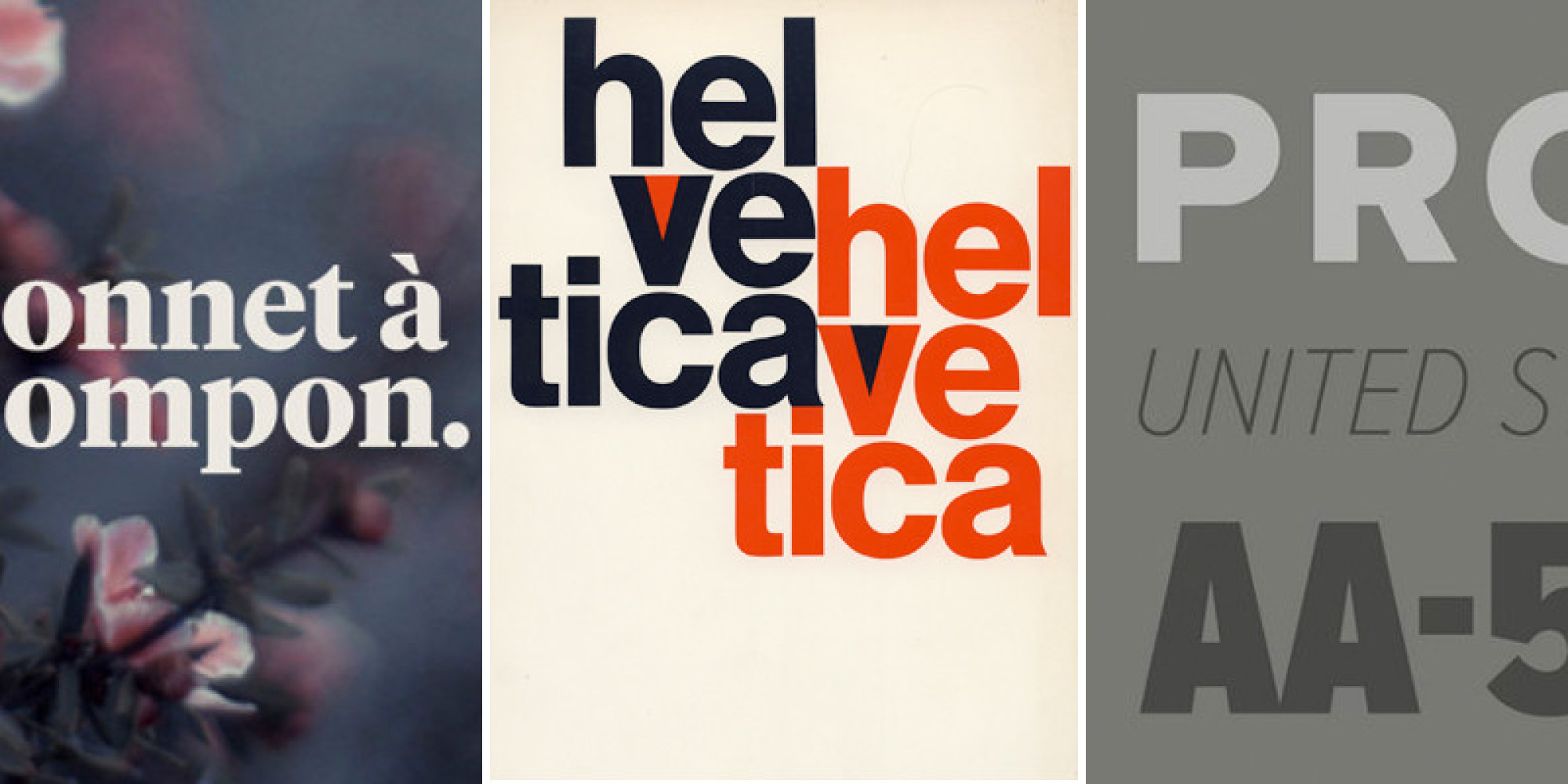 beyond helvetica more r eacute sum eacute fonts that stand out according to beyond helvetica 9 more reacutesumeacute fonts that stand out according to designers the huffington post