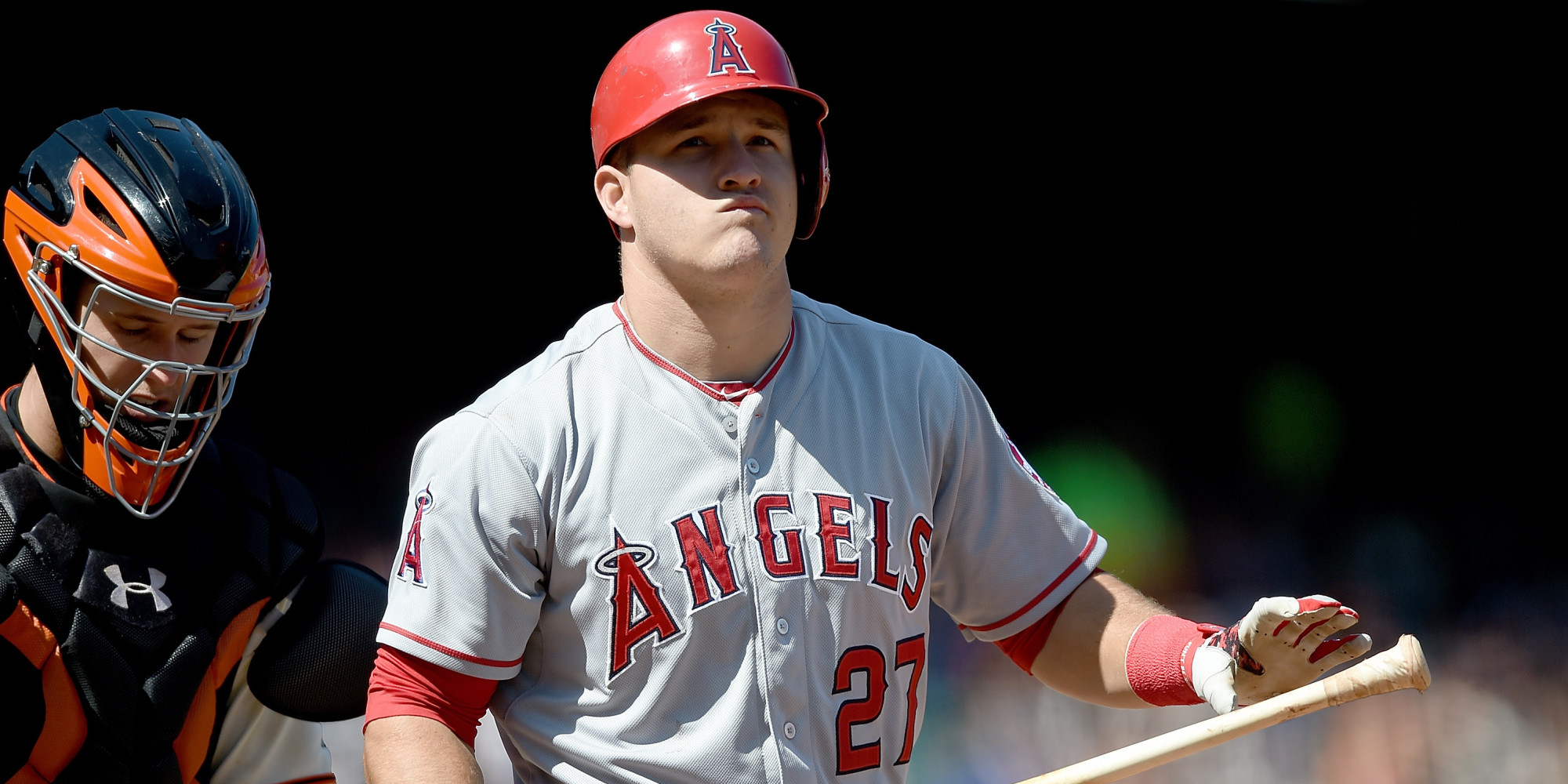 Did Twitterati Censor Angels Mike Trout Huffpost