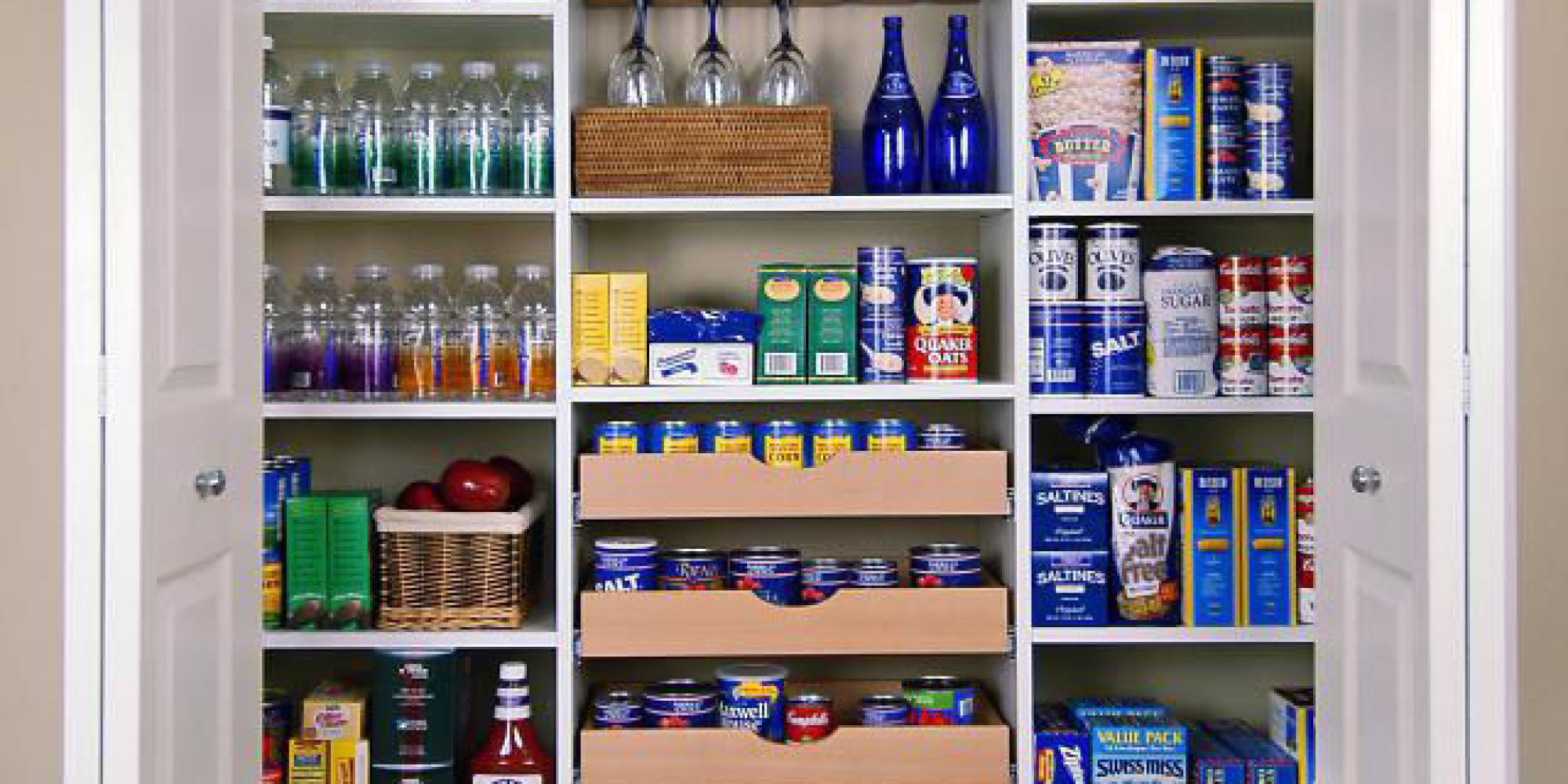 How to organize your kitchen cabinets huffpost Organizing home