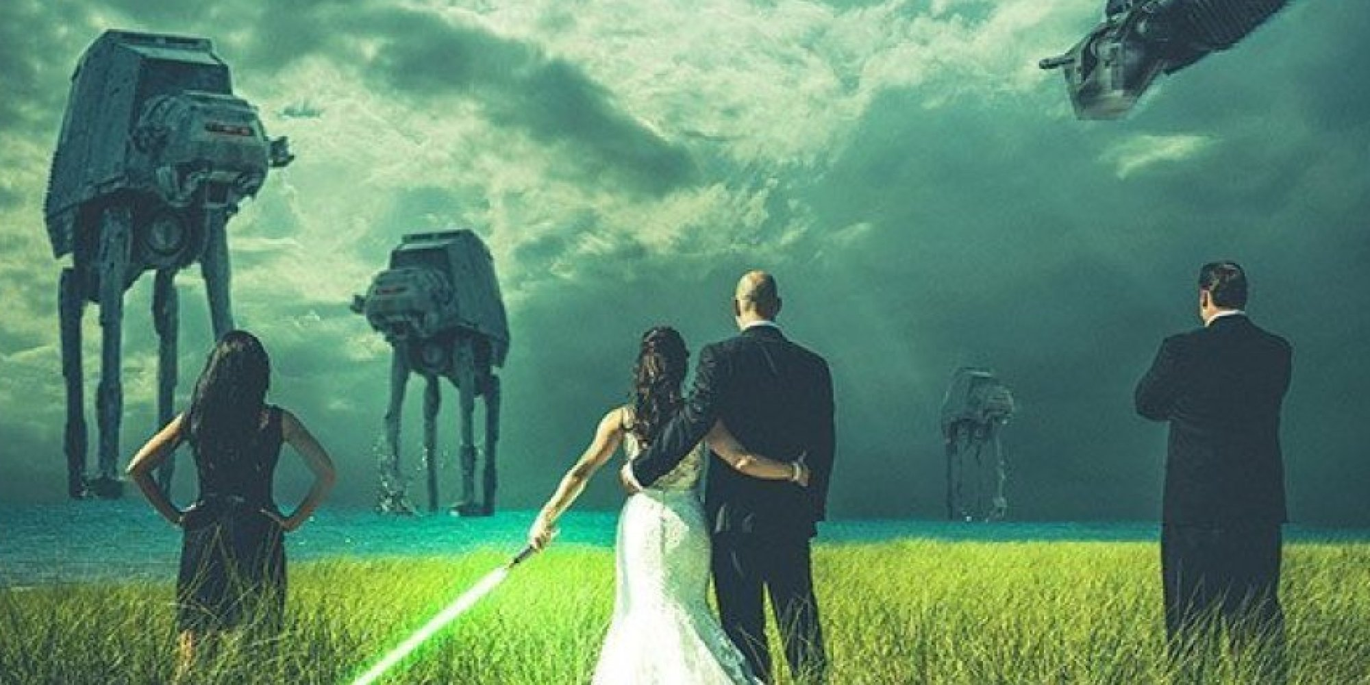 19 Awesome Wedding Ideas For Star Wars Super Fans HuffPost