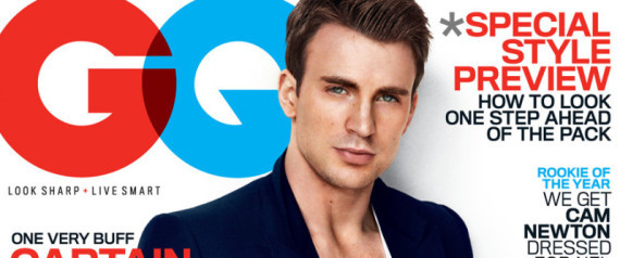 Chris Evans Gq