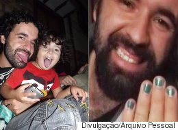 This Dad Painted His Nails To Support His Bullied Son