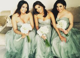Eva Longoria Makes For One Seriously Beautiful Bridesmaid