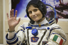 Italian astronaut