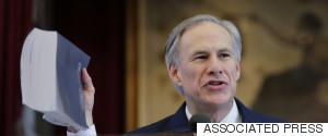 TEXAS GOVERNOR ABBOTT