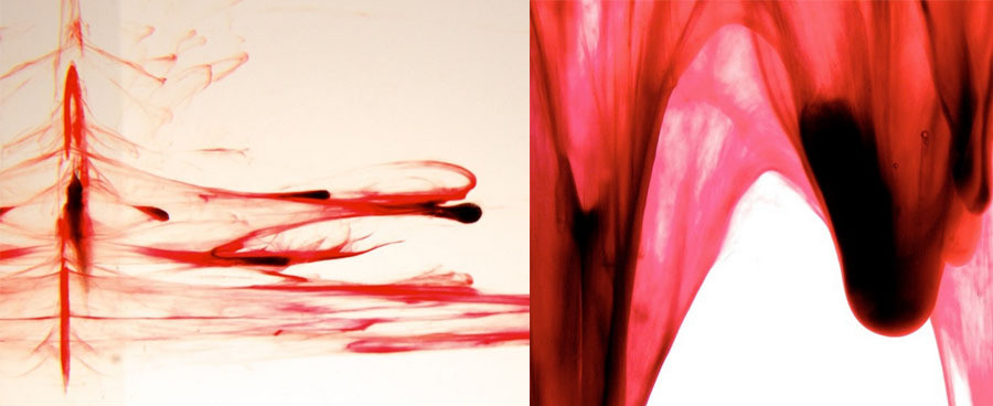Menstruation period blood