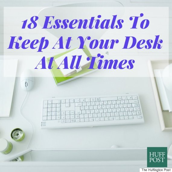 The 18 Items To Keep At Your Desk If