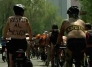 Nude Bike Protest