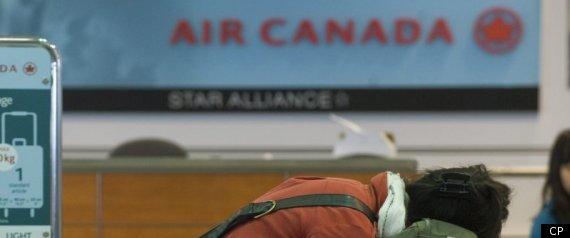 AIR CANADA STRIKE OTTAWA