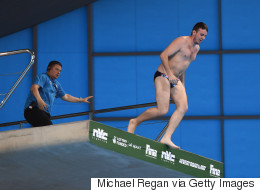 Prankster Sneaks Into World Diving Championships And Really Goes For It