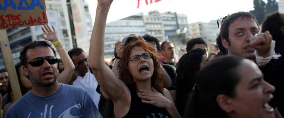 GREEK AUSTERITY PROTESTS