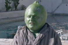 Justin Timberlake as a lime
