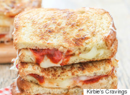 This Grilled Cheese Has Mind-Melded With A Pepperoni Pizza