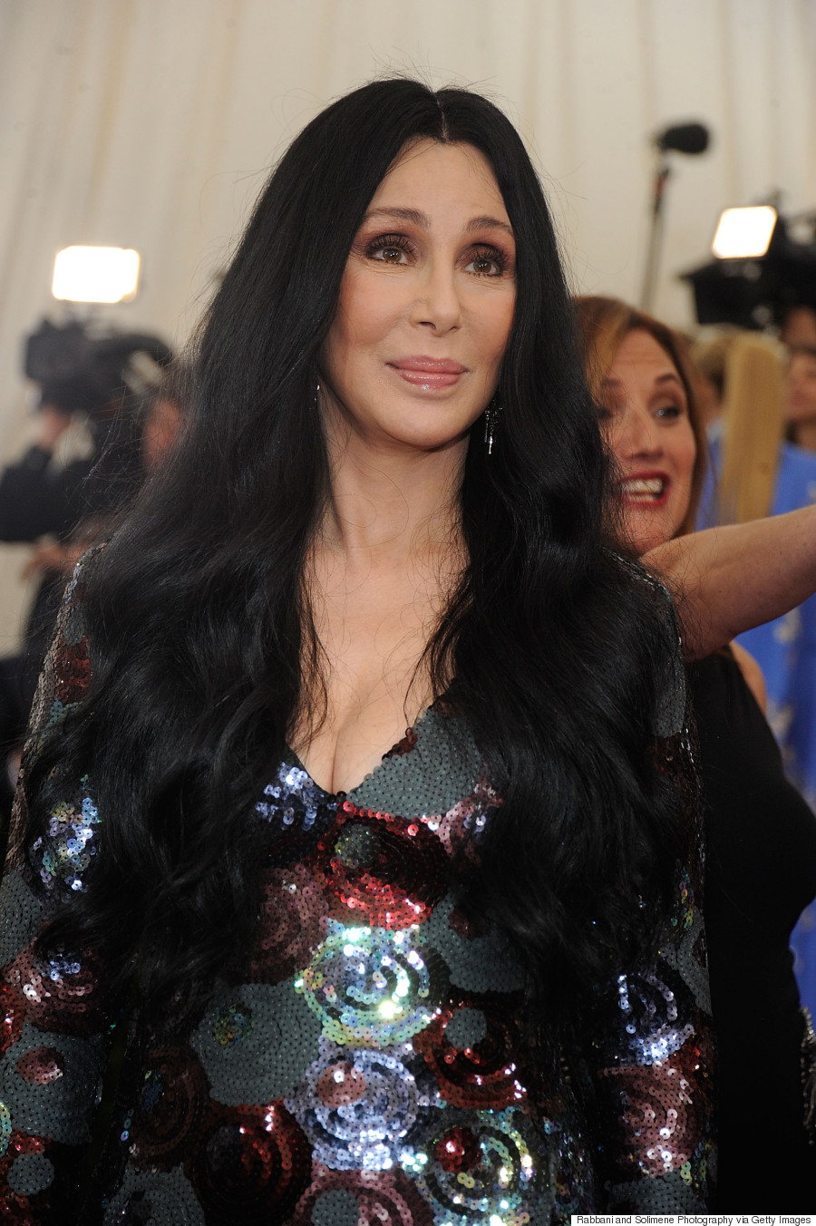Cher's 2015 Met Gala Dress Was Sparkling Perfection