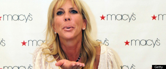 vicki gunvalson brooks. Vicki Gunvalson Dates Deadbeat
