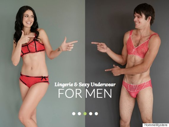 Sexy Lingerie For Men Is Now A Thing (Apparently) | The Huffington ...