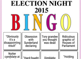 The Only Bingo Card You Need For Election Night