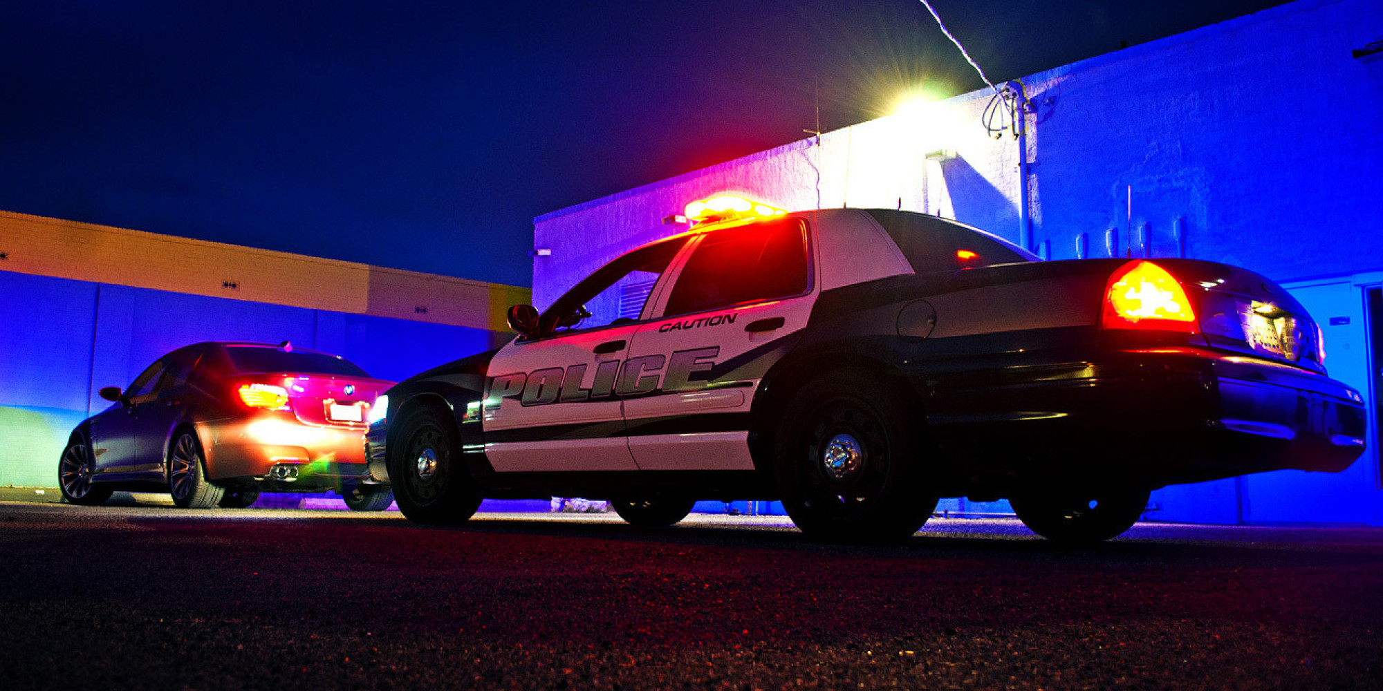 Cop Car Pulling Someone Over : Montana governor signs law to protect innocent people from