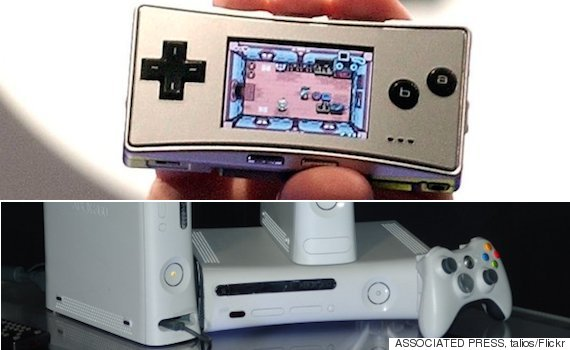 game boy and xbox